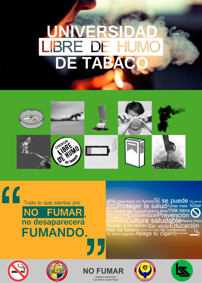 Cartel - Universidad libre de Humo de Tabaco